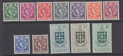 St Lucia 1953 set to $1 MH