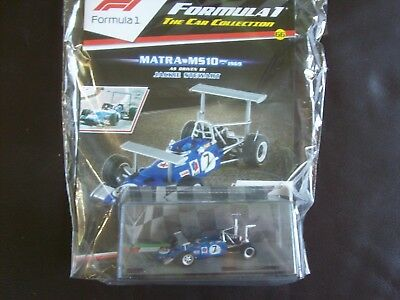 Formula 1 The Car Collection Part 66 Matra MS10 1969 Jackie Stewart