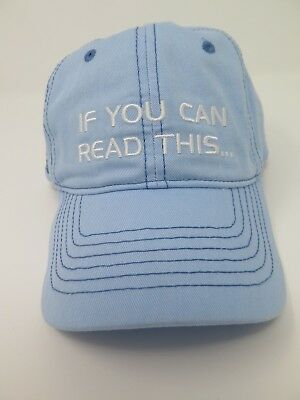 EPCOT If You Can Read This Thank the Phoenicians Spaceship Earth Baseball Hat