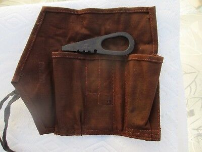 Mosin nagant  91/30 or m-44 tool pouch and screwdriver 7.62x54r