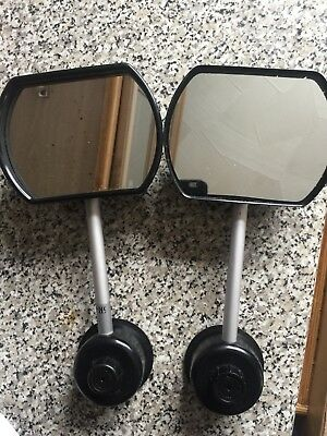 Suction Suck It Towing Mirrors Pair