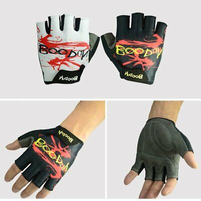 Boodun Half Finger Low Wrist Protective Breathable Motorcycle Racing Gloves CN