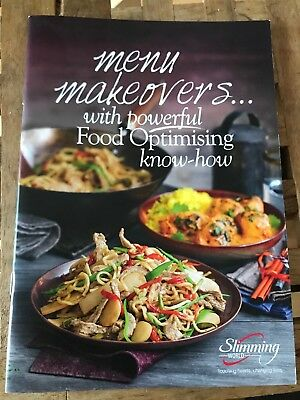 NEW SLIMMING WORLD MENU MAKEOVERS 33pg BOOKLET RECIPES TIPS SUCCESS STORIES.