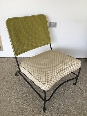 Iron Side Chair Patio Vintage Mid Century Heywood Wakefield Rock-A-Feller Lloyd