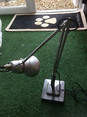 two step anglepoise 1227, herbert terry lamp