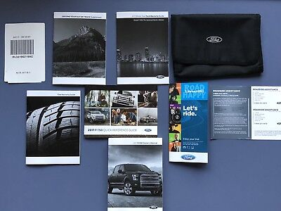 Ford F   F Owners Manual Xl Xlt King Ranch Lariat New