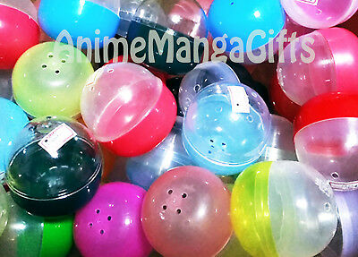 """20 x 2.5"""" EMPTY JAPANESE GASHAPON CAPSULE for Lucky Draw Party Gift Supply"""
