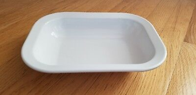 Vintage Texas Ware White Serving Dish