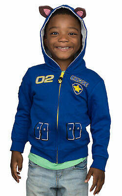 Children's Paw Patrol I am Chase Zip up Blue Hoodie