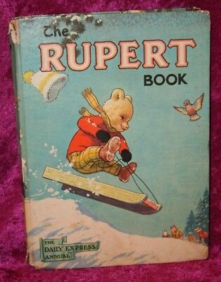 The Daily Express Annual, The Rupert Book, 1956, Unclipped.