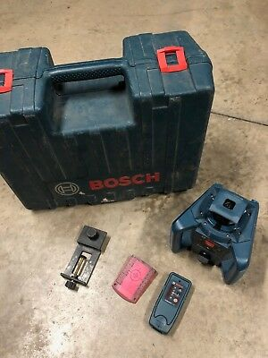 Bosch GRL 240 HV 800 ft. Self Leveling Rotary Laser Level and Remote LR24