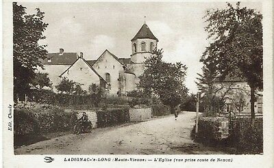CPA - France - (87) Haute-Vienne - Ladignac-le-Long - L'Eglise