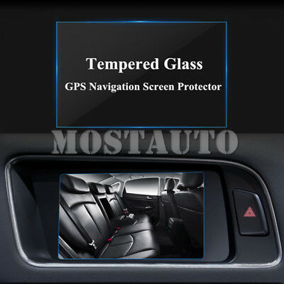 For Audi Q3 Q5 7.0 Inch Tempered Glass GPS Navigation Screen Protector 2009-2015