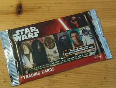 Star Wars Trading Cards, Unopened Pack