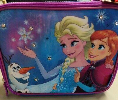 Thermos Frozen Anna and Elsa Soft  Lunch Box Tote Disney