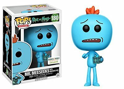 Mr. Meeseeks with Box Rick and Morty Limited Edition Funko Pop Vinyl Figure
