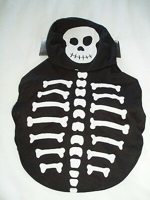 Halloween Pet Costume - 'skeleton' - Trick Or Terror ! - One Size - Bnwt