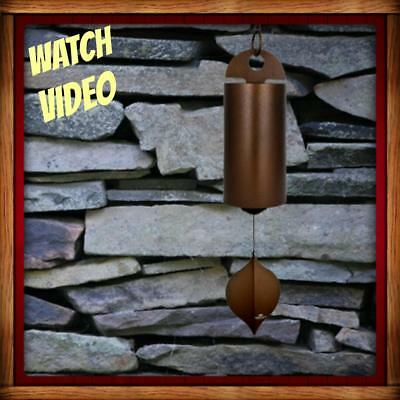 NEW Woodstock HEROIC WINDBELL - ANTIQUE COPPER - Medium OR Large YOUR CHOICE