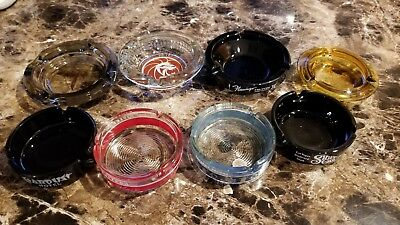 Vintage Las Vegas Casino Ashtrays  8 pieces