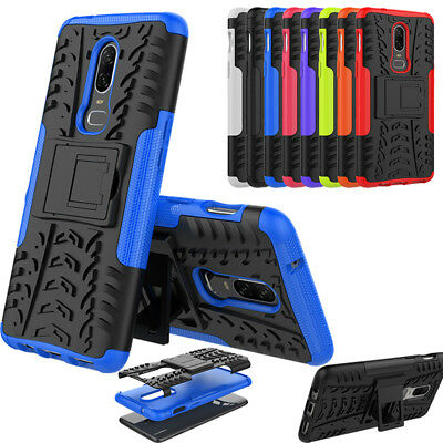Slim Dual Shockproof Armour Bumper Heavy Duty Case Cover For Oneplus 6 5 5T 3/3T