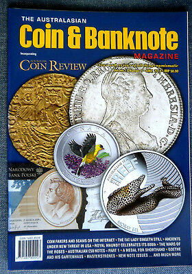 The Australasian Coin and Banknote Magazine,  Volume 13 Month June Year 2010 # 5