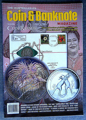 The Australasian Coin and Banknote Magazine,  Vol 13 Month August Year 2010 # 7