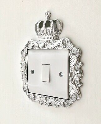 Princess Prince Crown Lightswitch Surround Regal Bedroom Decor