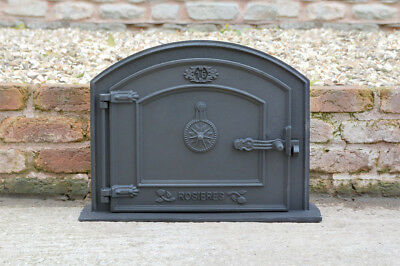 59 x 43.5 cm cast iron fire door clay bread oven doors pizza stove smoke house