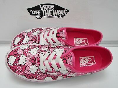 aa22e8d9b VANS Authentic (Hello Kitty) Morning Glory/Hot Pink VN-0RQZ8M1 Kids Size