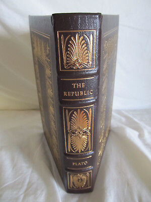 Easton Press THE REPUBLIC-Plato-One hundred greatest book, leather