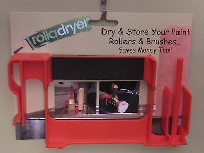 Paint Roller Cover Storage Device
