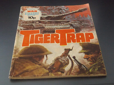 WAR PICTURE LIBRARY NO 1219!,dated 1976!,GOOD for age,great 42!YEAR OLD issue.