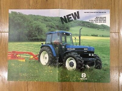 New Holland Tractor Brochure