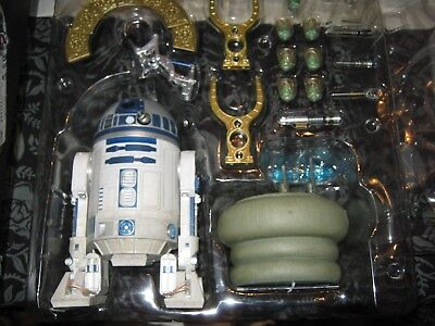 2016 Sideshow Collectibles R2-D2 Star Wars 1:6 scale Figure Lighted Leia Hot