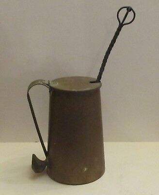 Vintage Brass Fire Starter with Pumice Stone Kerosene Wand, Cape Cod Shop