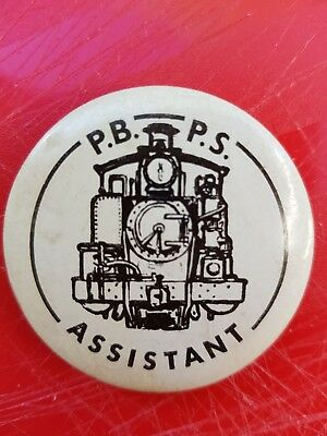 Puffing Billy Preservation Society Assistant Badge