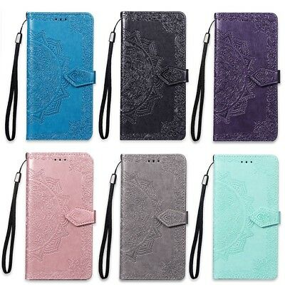 05aa72dc4f21f1 Coque Etui Housse Portefeuille Mandala Luxe Cuir Neuf Samsung S5 S6 S7 Edge  S9 +