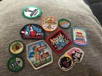 Girl Scout Holidays Birthday Hiking GSACPC Spring Registration Patch Badge Lot