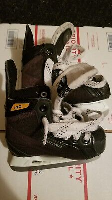 Bauer Supreme S140 Youth Ice Hockey Skates. Great Condition. Size 9 Y9, shoe 10