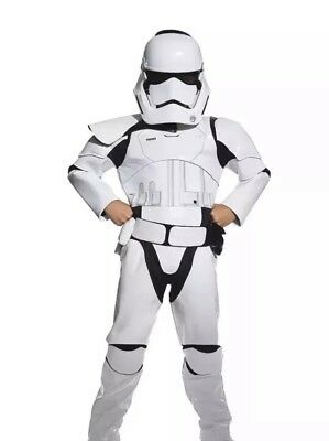 Disney Store Star Wars Stormtrooper Costume Set For Kids Size 4  NEW