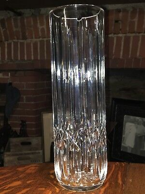 Waterford Crystal Scarce 12 Tall Cylinder Vase Discontinued Kildare