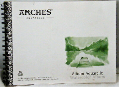 Arches Watercolor Pad 23 x 31 cm 300 gsm Cold Pressed Medium 1page removed