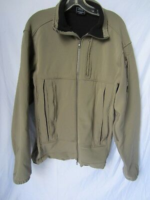 Beyond Clothing Soft Shell Tactical Cold Fusion Jacket Tan Navy SEAL