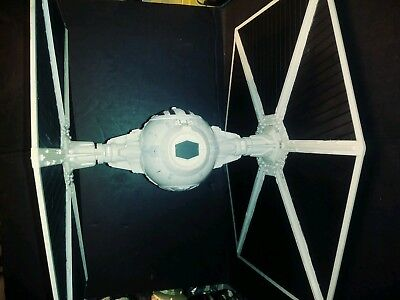 2009 Hasbro Star Wars  Legacy Large Wing TIE FIGHTER with ejecting panels works