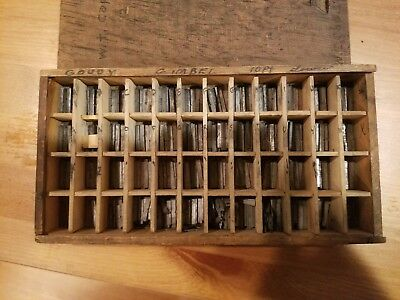 Letterpress Lead Type - 10 pt Goudy Gimbel Lowercase Complete Set