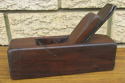 Small Antique Wood Working Block Plane.  18Cm Long.  Rare.  Collectible