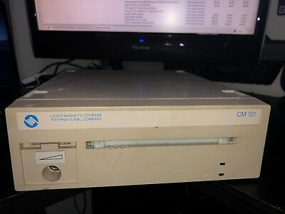 Laser Magnetic Storage International OSI Division CM 121 External SCSI CD Drive