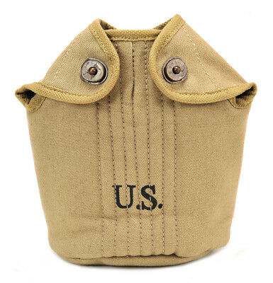 US WW1 M1910 Canteen Cover Khaki marked JT&L 1918