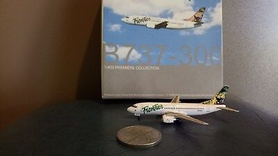 Dragon Wings FRONTIER AIRLINES Beoing 737-300 1:400 Model