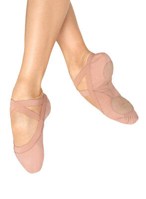 Bloch Pro-elastic pink ballet shoes S0621L and S0621G